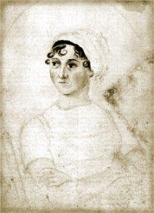 Jane Austen sketch by Cassandra