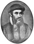 Gutenberg, Public Domain image from Wikipedia