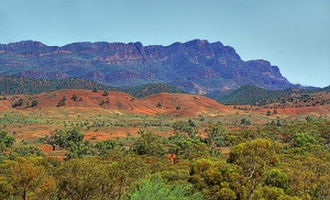Flinders Ranges (Photo: Georgie Sharp @ flickr, used under Creative Commons licence CC-BY-2.0)