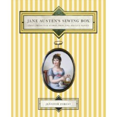 Jane Austen Sewing Box, by Jennifer Forest, Book cover