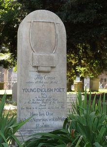 John Keats' grave, Rome