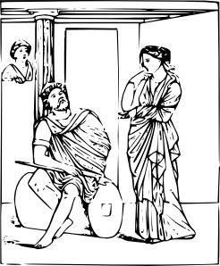Odysseus and Penelope