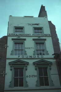 Sick and Indigent Roomkeepers' Society, London