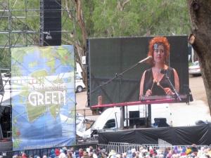 Katie Noonan, 2010, at Centennial Vineyards