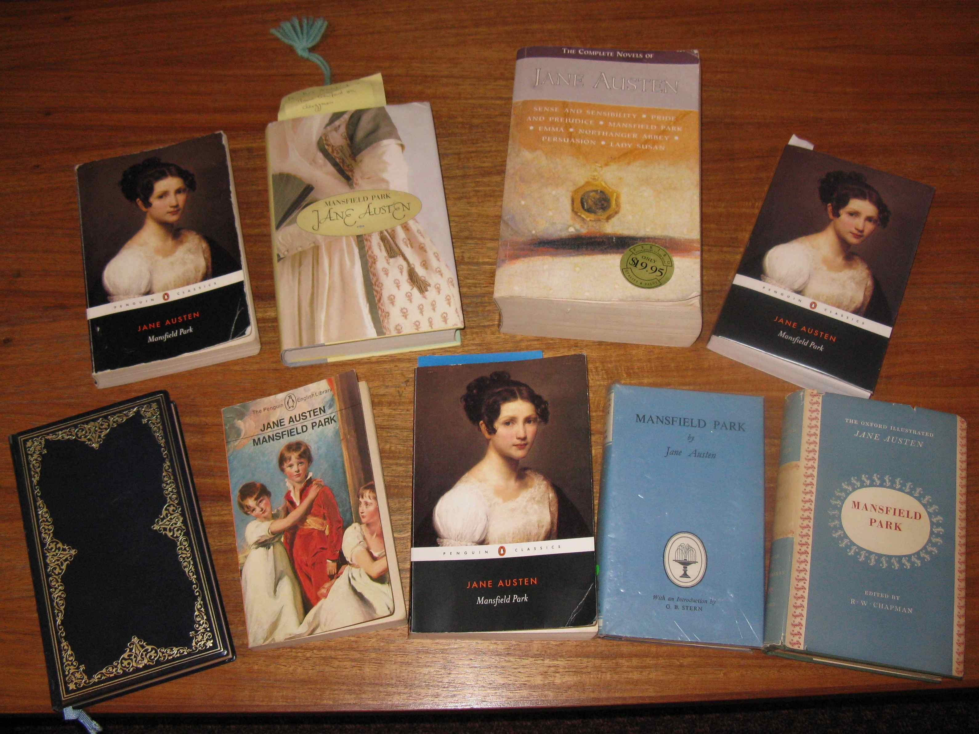 a review of jane austens mansfield park Emma in the cambridge edition of the works of jane austen,  a chronology of jane austen and her family (review)  mansfield park.