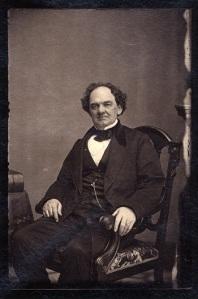 P.T. Barnum, by Matthew Brady