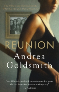 Andrea Goldsmith, Reunion bookcover