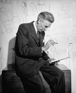 James Thurber, 1945