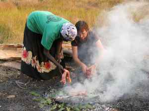 Ground oven cooking, Kakadu