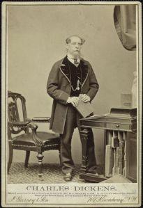 Charles Dickens, c1860