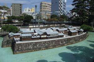 Dejima model, Nagasaki