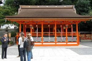 Tour guide in Japan, Fushimi Inari Taisha, Kyoto