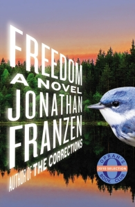 Freedom bookcover, by Jonathan Franzen