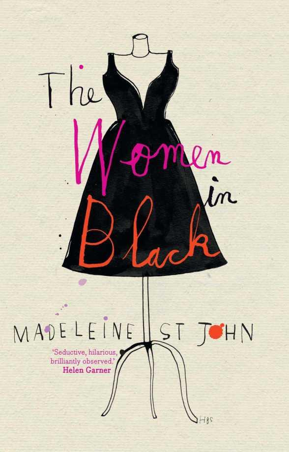 The women in black, Madeleine St John, book cover