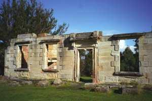 Saltwater River penal settlement ruins