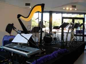 Musical instruments at the Belconnen Arts Centre