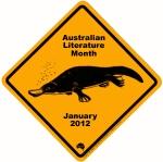 Australian Literature Month Platypus logo