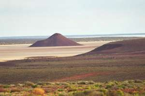 Desert south of Woomera, South Australia