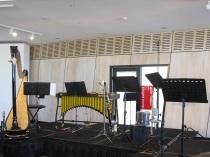 Griffyn Ensemble set up