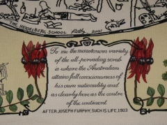 Section of Panel 7 of the 10-panel Federation tapestry