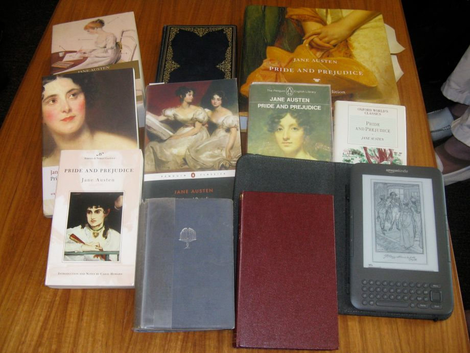 Pride and prejudice book covers
