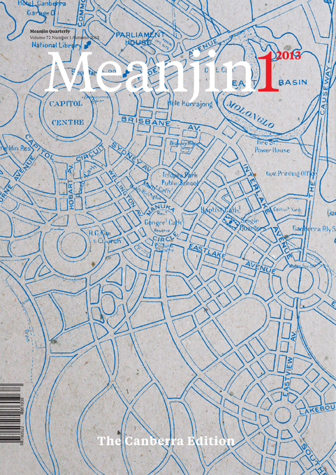 Meanjin Canberra Issue 2013
