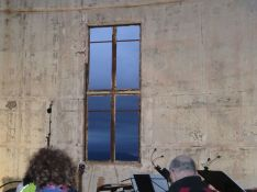 Mt Stromlo burnt out telescope