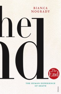 Bianca Nogrady, The end book cover