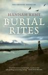 Hannah Kent, Burial Rites bookcover