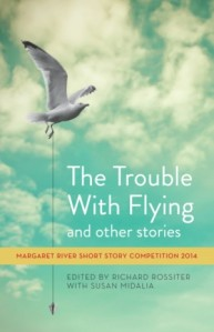 The trouble with flying book cover