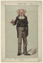 Trollope, 1873, in Vanity Fair (Public Domain, via Wikipedia)