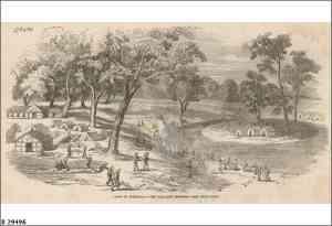 Ballarat Diggings c.1852