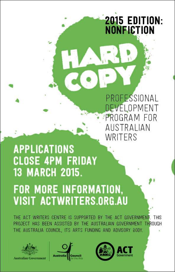 HARDCOPY 2015 flyer