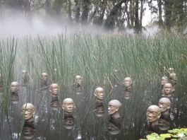 Fog sculture, National Gallery of Australia