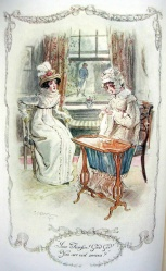 Illustration, Emma and Mrs Weston