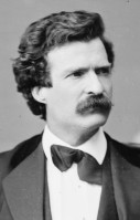 Mark Twain, by Matthew Brady, 1871 (Public Domain in the US, via Wikipedia)
