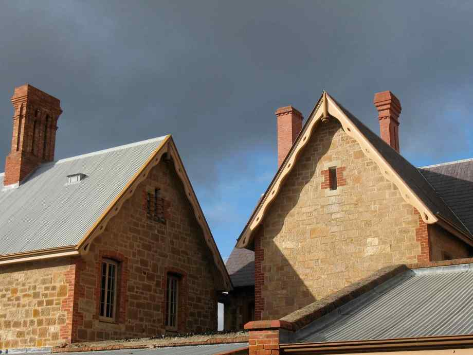 South Australian Museum roofs