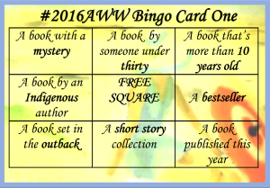 2016 Bingo Card One
