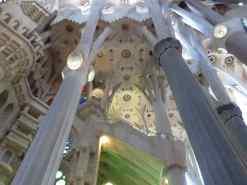 Interior, La Sagrada Familia