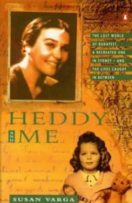 Susan Varga, Heddy and me Book cover