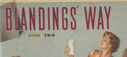 Blandings Way, Book Two, magazine header