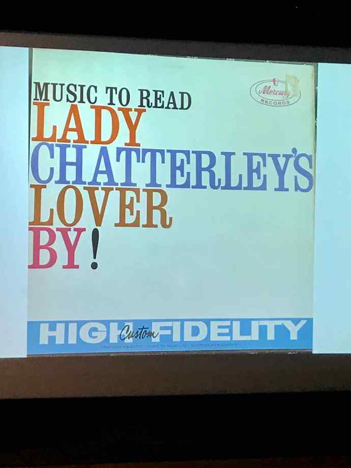 Music to read lady Chatterley's lover by, album cover
