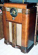 Zenith Console Radio, 1941