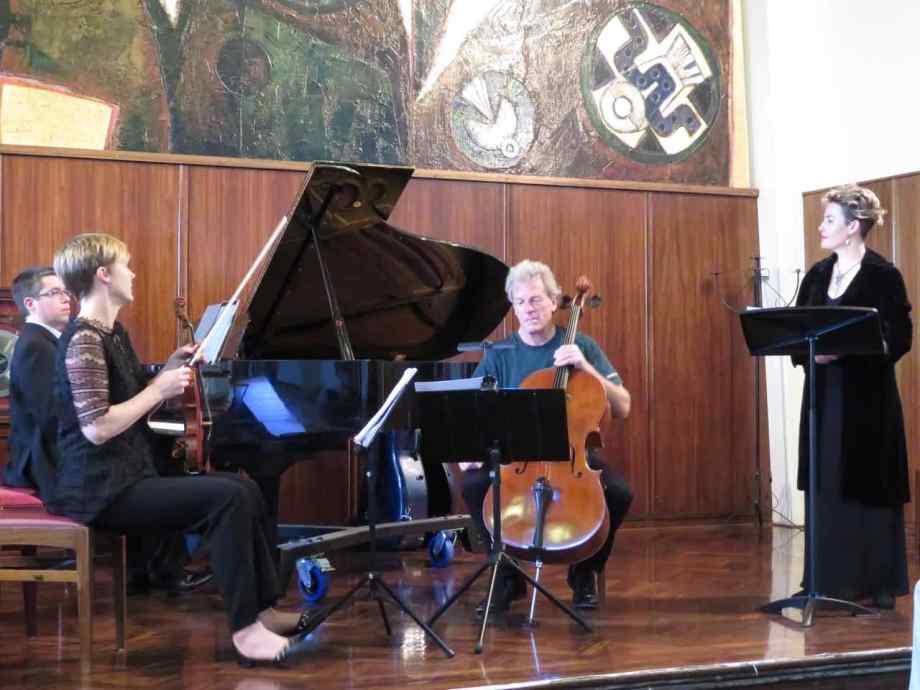 Last Words trio and soprano