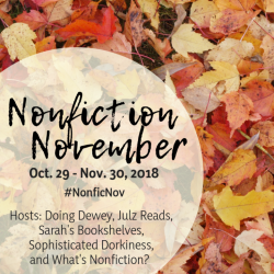 Non-fiction November 2018