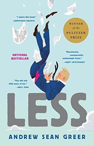 Andrew Sean Greer, Less, book cover