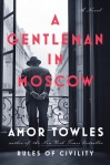 Cover for Amor Towles A gentleman in Moscow