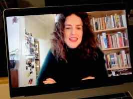 Jess Hill making her Stella Prize Winner's speech